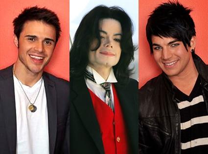 Kris Allen, Michael Jackson, Adam Lambert
