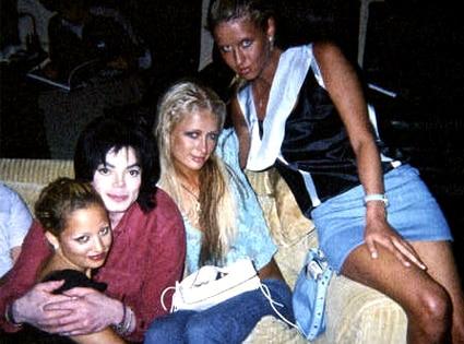 Nicole Richie, Michael Jackson, Paris Hilton, Nicky Hilton