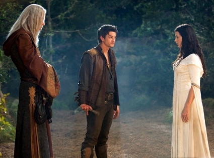 Bruce Spence, Craig Horner, Bridget Regan, Legend of the Seeker