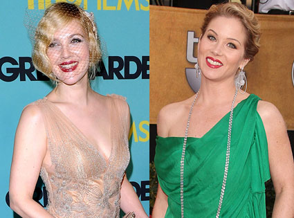 Drew Barrymore, Christina Applegate