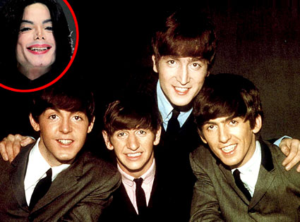 The Beatles, Michael Jackson