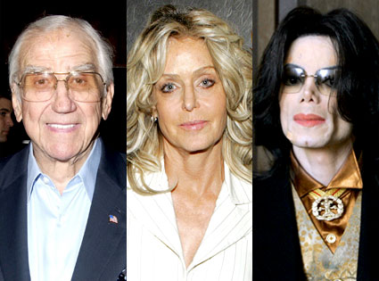 Ed McMahon, Farrah Fawcett, Michael Jackson