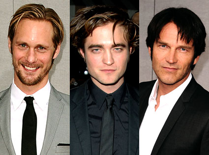 Alexander Skarsgard, Robert Pattinson, Stephen Moyer