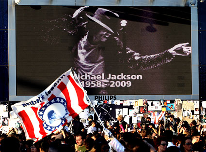 Michael Jackson, Tribute, Fans, London