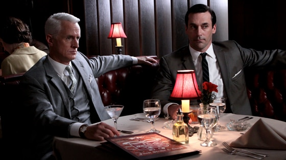 John Slattery, Jon Hamm, Mad Men