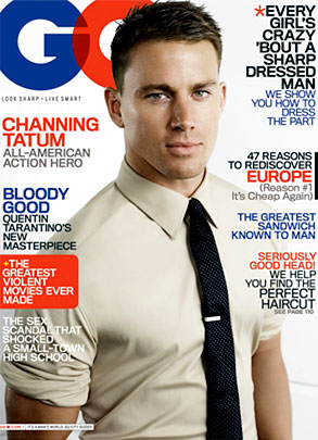 Channing Tatum, GQ Cover