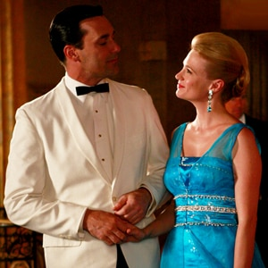 Jon Hamm, January Jones, Mad Men