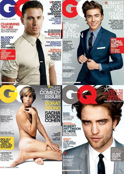 Channing Tatum, Zac Efron, Sacha Baron Cohen, Robert Pattinson