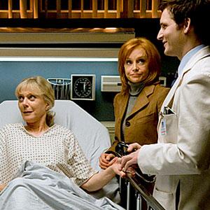 Peter Facinelli, Swoosie Kurtz, Blythe Danner, Nurse Jackie