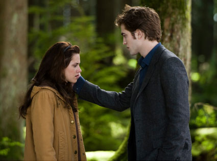 New Moon, Robert Pattinson, Kristen Stewart