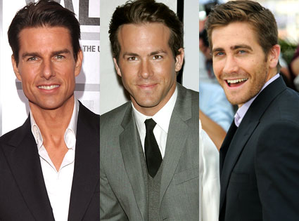 Tom Cruise, Ryan Reynolds, Jake Gyllenhaal