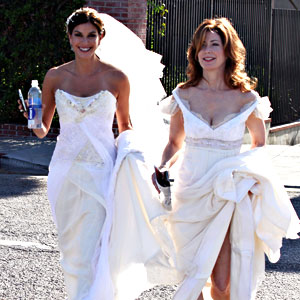 Teri Hatcher, Dana Delany, Desperate Housewives