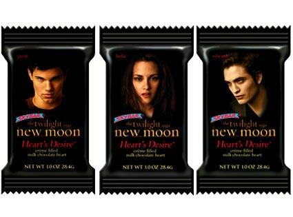 New Moon Heart's Desire Chocolate