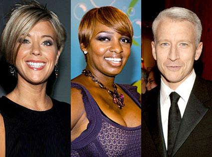 Kate Gosselin, NeNe Leakes, Anderson Cooper