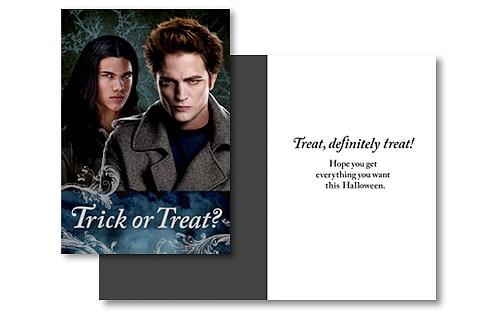 Twilight, Halloween Card