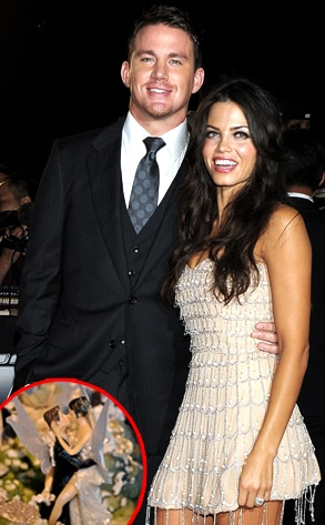 Channing Tatum, Jenna Dewan, Wedding Cake Topper
