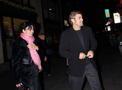George Clooney, Karen Duffy