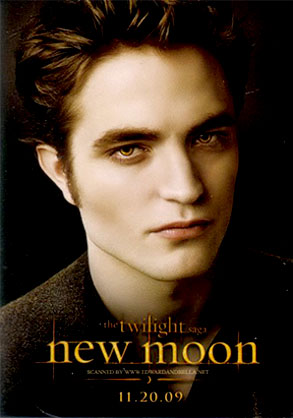 Robert Pattinson, New Moon Poster