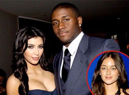 Kim Kardashian, Reggie Bush, Caroline D'Amore