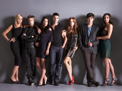 Katie Cassidy, Shaun Sipos, Stephanie Jacobsen, Colin Egglesfield, Ashlee Simpson, Michael Rady, Jessica Lucas, Melrose Place