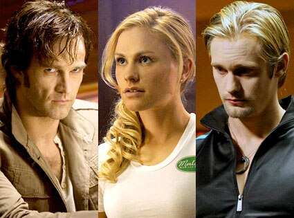 True Blood, Stephen Moyer, Anna Paquin, Alexander Skarsgard