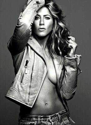 Jennifer Aniston, Elle Magazine (inside)