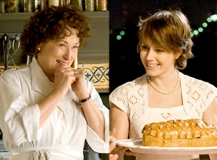 Meryl Streep, Amy Adams, Julie and Julia