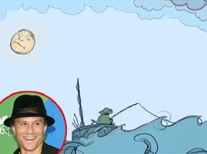 Modest Mouse's 'King Rat' (music video), Heath Ledger