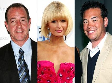 Michael Lohan, Paris Hilton, Jon Gosselin