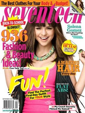 Selena Gomez, Seventeen Magazine