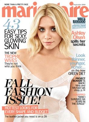 Ashley Olsen, Marie Claire Magazine