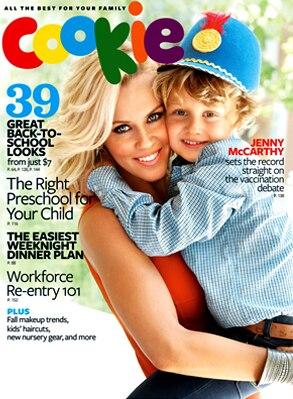 Jenny McCarthy, Evan, Cookie Magazine