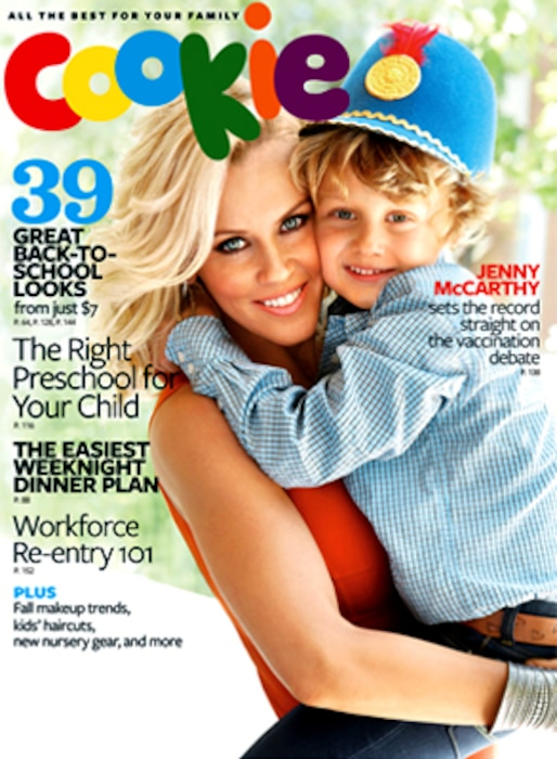 Jenny McCarthy, Evan, Cookie Magazine