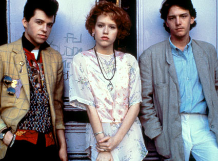 Jon Cryer, Molly Ringwald, Andrew McCarthy, Pretty in Pink