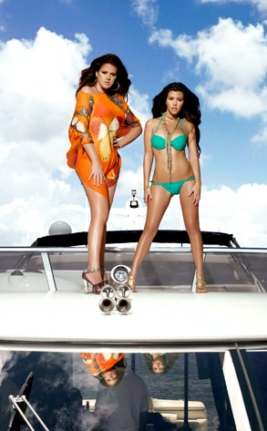 Kourtney Kardashian, Khloe Kardashian Odom, Kourtney & Khloe Take Miami
