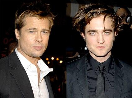 Brad Pitt, Robert Pattinson