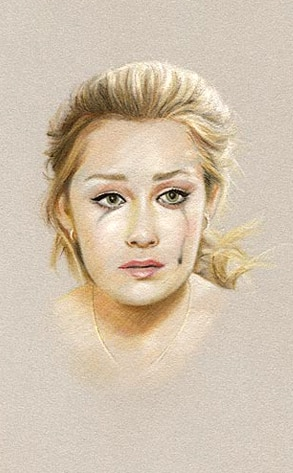 Lauren Conrad pastel drawing, Charles H. Scott Gallery