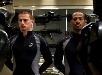Marlon Wayans, Channing Tatum, G.I. Joe: Rise of the Cobra