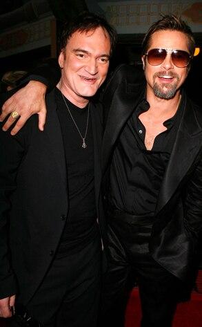 Quentin Tarantino, Brad Pitt