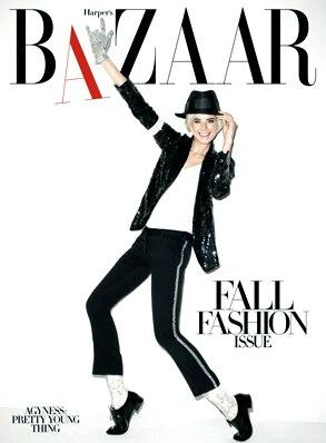 Agyness Deyn, Harper's Bazaar (cover)