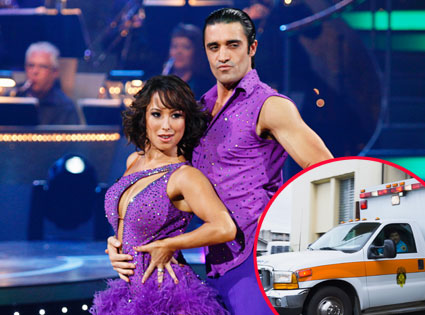 Dancing With the Stars, Cheryl Burke, Giles Marnin, Ambulance