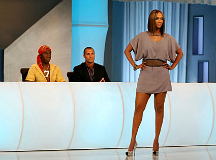 J. Alexander, Nigel Barker, Tyra Banks, America's Next Top Model