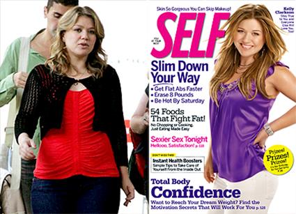 Kelly Clarkson, Self Magazine, Cover