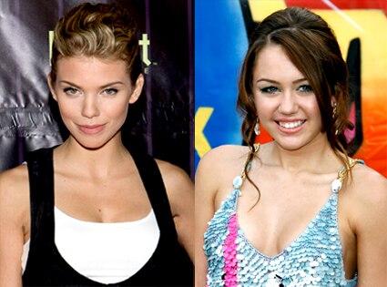 AnnaLynne McCord, Miley Cyrus