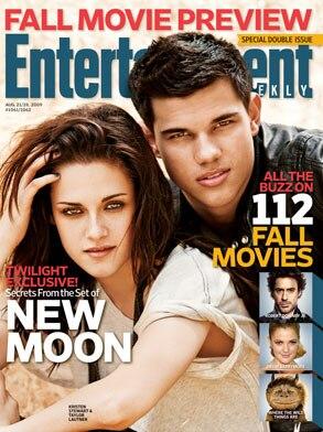 Kristen Stewart, Taylor Lautner, Entertainment Weekly