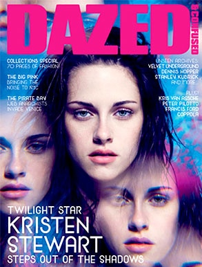 Kristen Stewart, Dazed and Confused Magazine, Cover