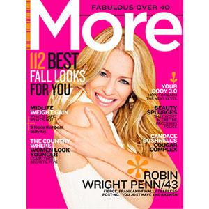 Robin Wright Penn, More Magazine, Cover