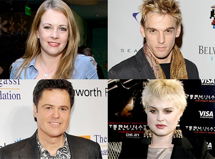Melissa Joan Hart, Aaron Carter, Donny Osmond, Donny Osmond