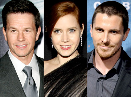 Mark Wahlberg, Amy Adams, Christian Bale
