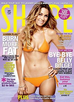 Lauren Conrad, Shape Magazine, Cover